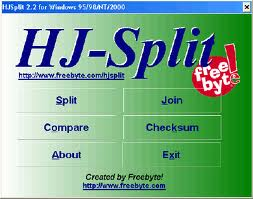 hjspit Cara Menggabungkan File Dengan HJ Split