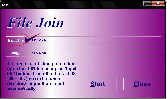 hjsplit3 Cara Menggabungkan File Dengan HJ Split