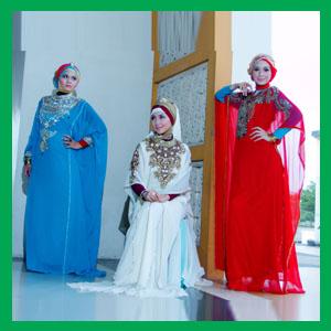 kaftan warna Trend Baju Muslim 2011