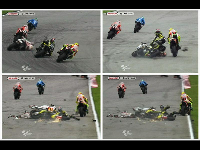 MotoGP2 Foto Simoncelli Tewas saat balapan di MotoGP Malaysia