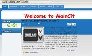 maincit maincit blogspot com, tempat download cheats terbaru